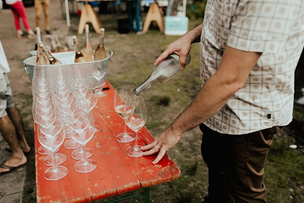Four wine pairings and chef-prepared courses make for a relaxing afternoon on the lake. - NATALIE PULS PHOTOGRAPHY