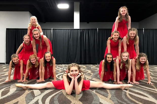 Lindsi Kay and her youth Acro Fusion class have had to overcome major COVID-related adversities in order to put together an inspiring show. - COURTESY LINDSI KAY