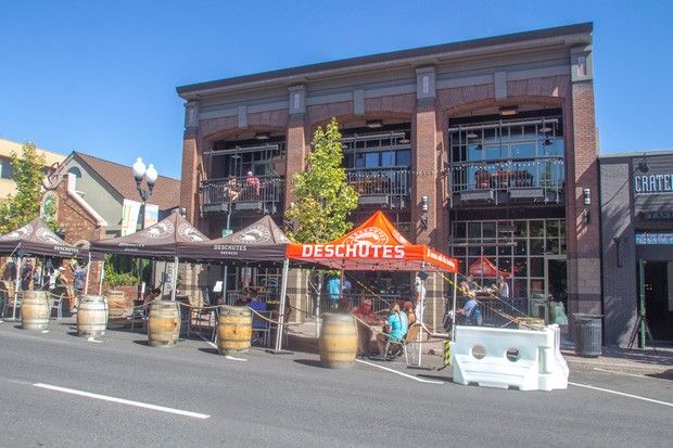 Bend bounces back! Recently, restaurants have been expanding their outside seating into their parking spaces, this allows for more tables while maintaining proper safety requirements for COVID. - KYLE SWITZER