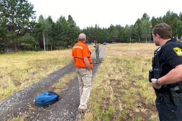 Law enforcement and Search & Rescue members on site during the recovery mission. - JEFFERSON COUNTY SEARCH AND RESCUE