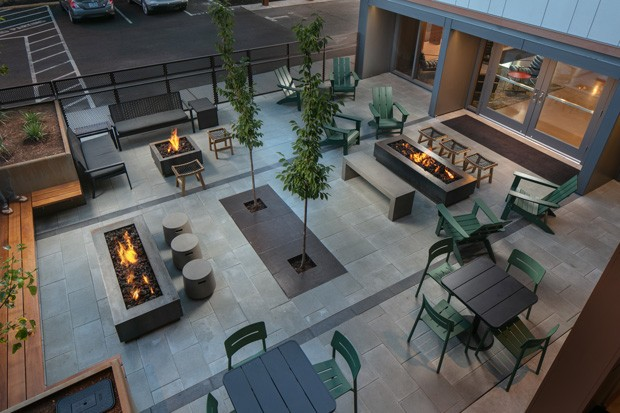Outdoor fire pits coupled with $5 pours? Yes, please. - COURTESY OF SIGNATURE BEND