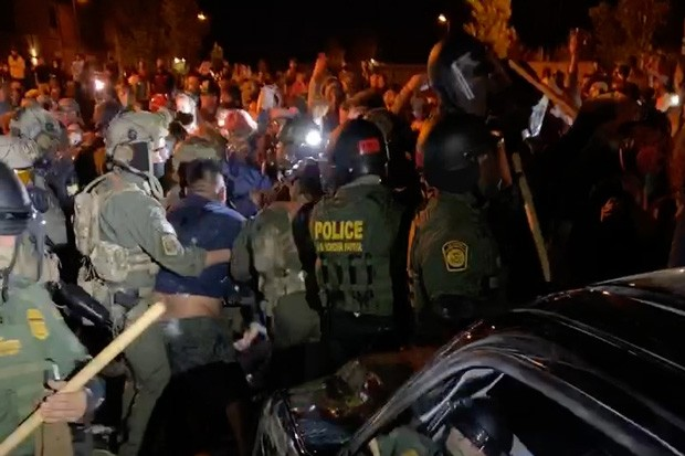 The detainees from Bend were assigned a volunteer attorney on the ground in Bend on Aug. 12, who coordinated with the Innovation Law Lab in Portland to try to prevent ICE from taking the men out of state. - NICOLE VULCAN