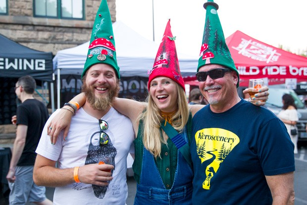 Get festive for this year's walkabout, get extra punches. - BRIAN BECKER PHOTOGRAPHY