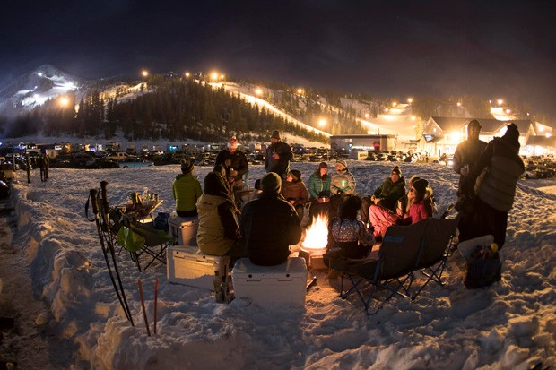 Hoodoo skiers can get in their after-dark turns this season. - COURTESY HOODOO