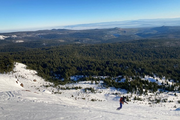 A ski run off the beaten path is a wonderful remedy to COVID-19 cabin fever this winter. - K.M. COLLINS