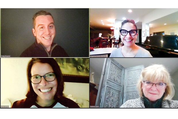 ETC founders, clockwise from top left: Craig Brauner, Angelina Anello-Dennee, Debbie Levin and Amy James - SUBMITTED