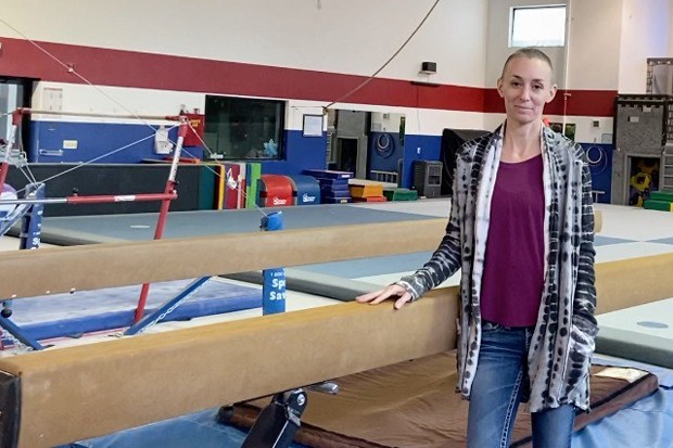 Sharman Watt misses the gym just as much as her kids do. - COURTESY OF SHARMAN WATT