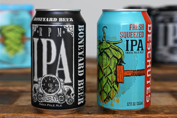 Yes, they can, can! These two hometown favorites can play well together. - COURTESY BONEYARD BEER / FACEBOOK
