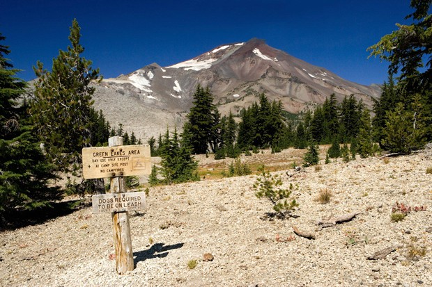 View of South Sister from the Green Lakes Trail in the Three Sisters Wilderness on the Deschutes National Forest in Oregon's Cascades. - COURTESY U.S. FOREST SERVICE