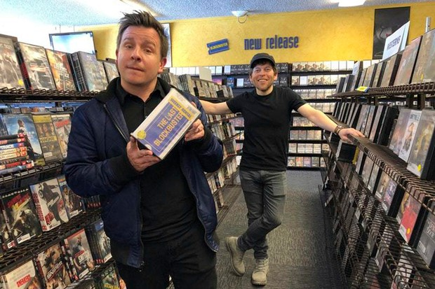 """Taylor Morden and Zeze Kamm hang out in """"The Last Blockbuster."""" - COURTESY TAYLOR MORDEN"""