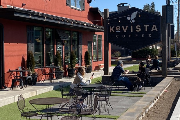 OHSA fined Bend's Kevista Coffee twice for alleged violations of COVID-era rules. - NICOLE VULCAN