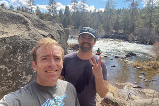 Local adventurers got to experience all four seasons on their day of tackling all five buttes. - DAVID CRANE