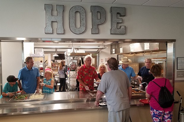 Like at Bethlehem Inn's Bend location, residents at the former Greenway Motel in Redmond will get three meals a day. - COURTESY OF GWENN WYSLING