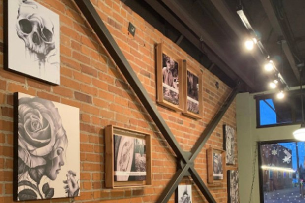 Downtown Bend's First Friday Art Walk gives local businesses the chance to showcase local art in shops. - COURTESY FIRST FRIDAY ART WALK BEND OREGON
