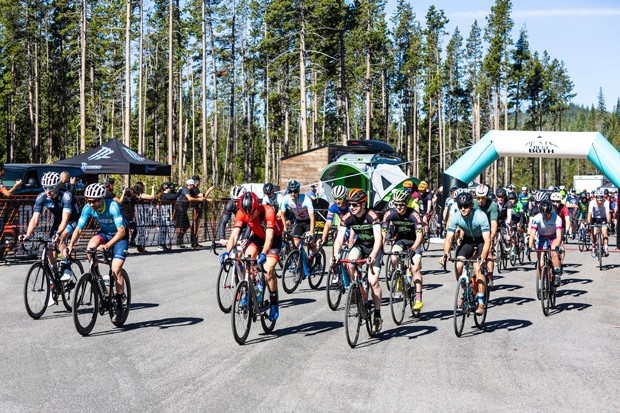 Feeling competitive? An array of options are available this summer for running and cycling enthusiasts of all skill levels. Here, Best of Both riders start their race. - MIKE ALBRIGHT