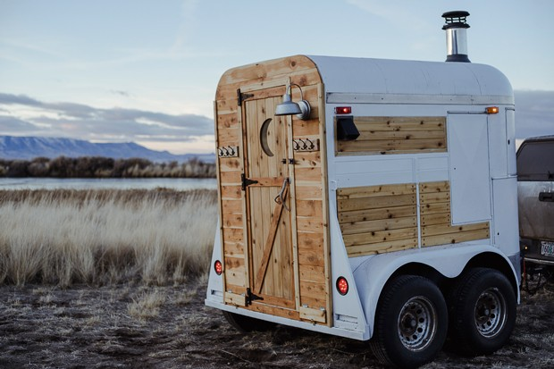 Gather Sauna House is a tiny little woodfired mobile sauna that brings wellness on the road. - GATHER SAUNA HOUSE