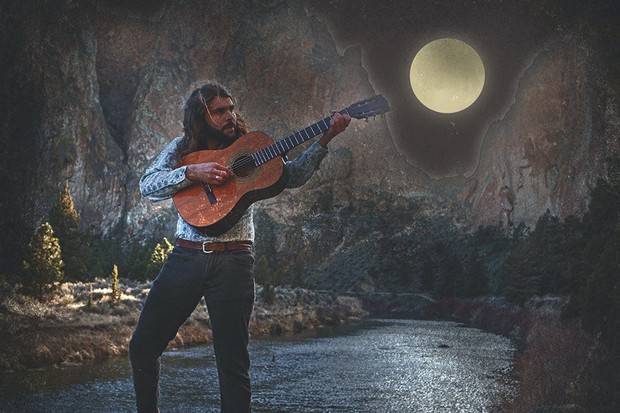With his first solo album on the horizon, Jeshua Marshall takes aim at the moon and beyond. - COURTESY JESHUA MARSHALL