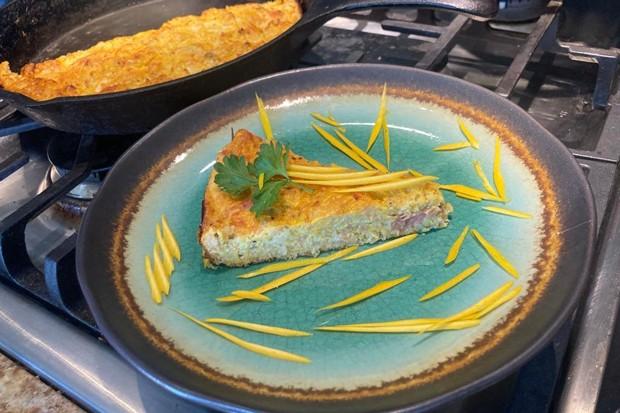 Zucchini soufflé. Why not? - ARI LEVAUX
