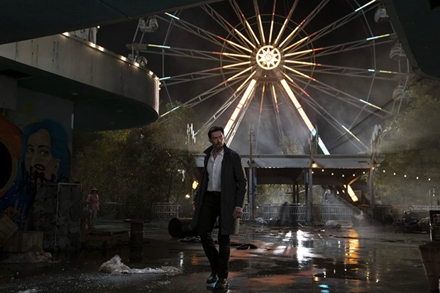 """The beautiful wreckage of """"Reminiscence."""" - PHOTO COURTESY OF HBO"""