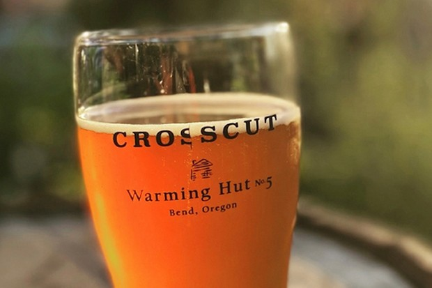Oktoberfest at Crosscut Warming Hut No. 5 is just one of the several upcoming drink events. - CROSSCUT WARMING HUT