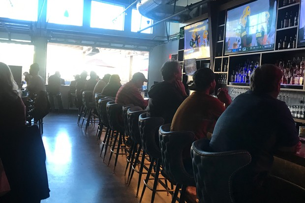 Padded barstools and several TVs make for good sports viewing at Walt Reilly's. - COURTESY WALT REILLY'S
