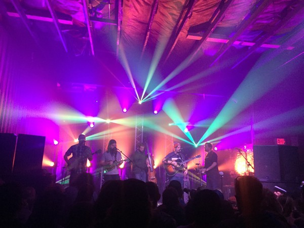 Greensky Bluegrass entertained listeners last week at the Domino Room.
