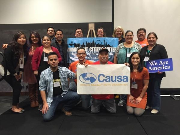 Causa, Oregon's Immigrant Rights Organization.