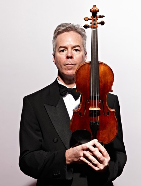 Frank Almond will play at the High Desert Chamber Music Spotlight Series on 11/20.