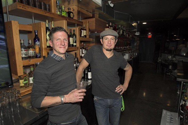 Business partners Sean Day and Nate Edgell have opened the Captiol, a cozy, underground bar.