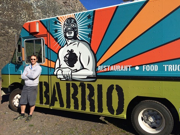 Chef and owner Steven Draheim takes Barrio into the next gear with a new food truck.