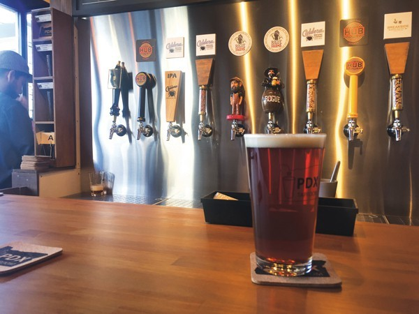 The PDX Taproom creates an Oregon atmosphere in the heart of Tokyo