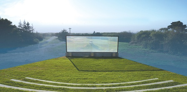 Gold Beach can now claim to have the hotel industry's first oceanfront outdoor theater.