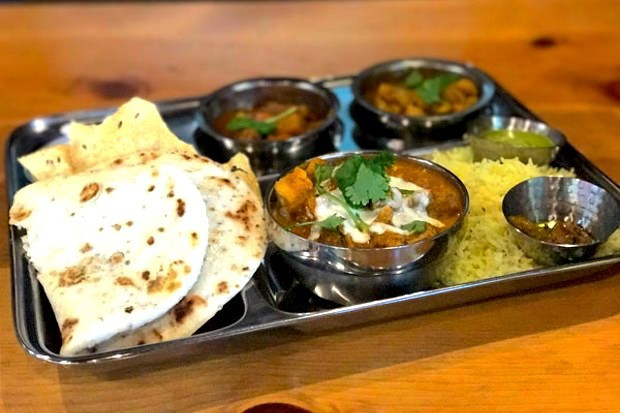 A taste of Thali—at newly opened Mantra Indian Kitchen and Tap Room - LISA SIPE