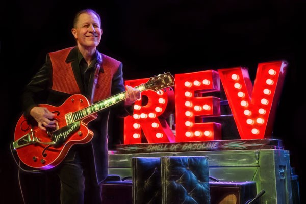 Jim Heath performs as Revered Horton Heat at the Domino Room on 1/17. - SUBMITTED.