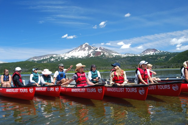 Why drive when you can Canoe? Wanderlust tours offers escapes to beautiful places all over Central Oregon. - SUBMITTED