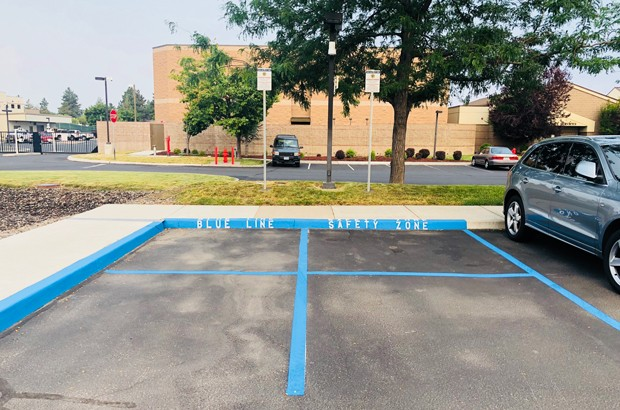 The new Blue Line Safety Zone at the Deschutes County Sheriff's Office - DESCHUTES COUNTY SHERIFF'S OFFICE