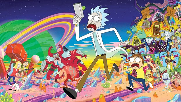 Would you rather live in the world of Rick and Morty or Gravity Falls? - COURTESY OF DISNEY AND CARTOON NETWORK