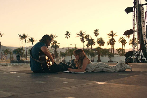 Gaga and Cooper, together again for the first time. - COURTESY OF WARNER BROS.