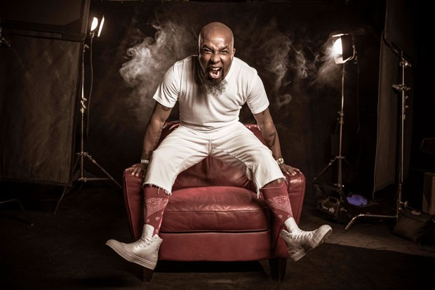 "With the daily news bringing more frustration, Tech N9ne says he invented a ""planet of love"" to escape to on his latest album. - DANNYS ILIC"
