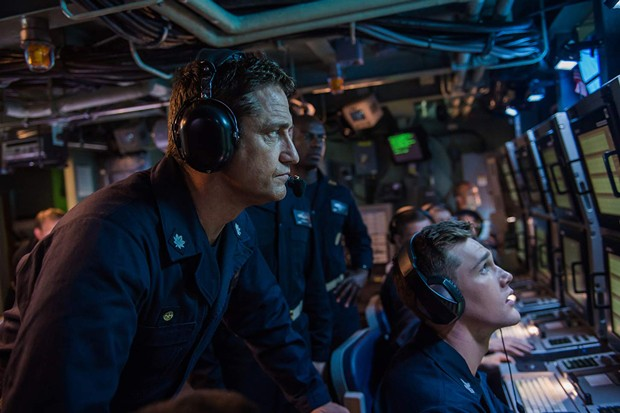 Gerard Butler vs a submarine is a reality show I would watch. - COURTESY OF FOX
