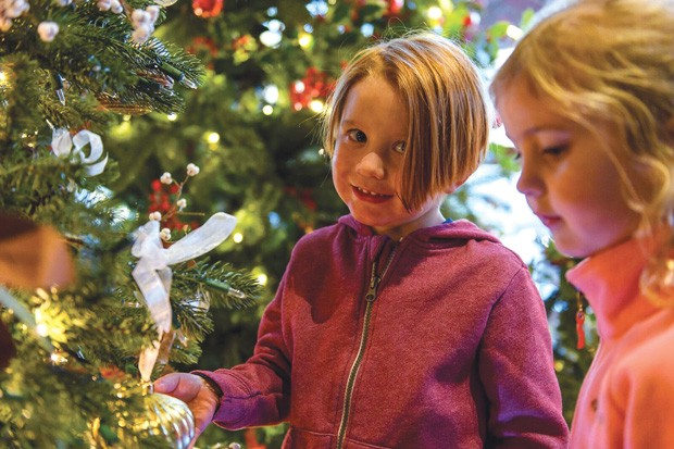 Bring your family to the Grand Illumination at Sunriver Resort, Nov. 17. - SUBMITTED