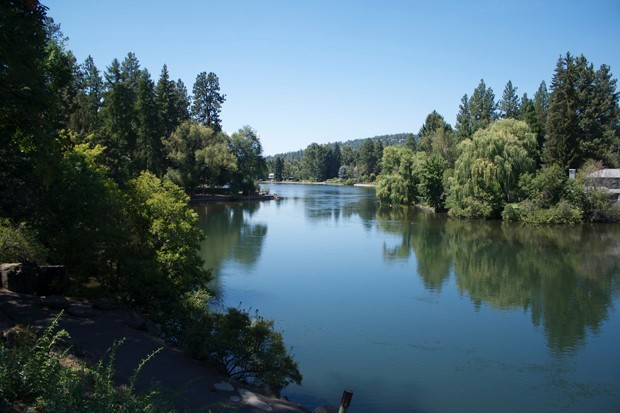 Bend's Mirror Pond. - SUBMITTED