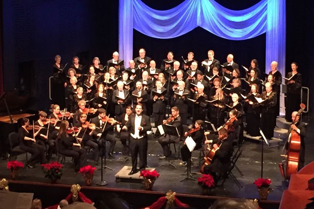 The Mastersingers performed Vivaldi's Gloria at last year's Tower concert. - SUBMITTED PHOTO