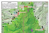 Access maps of future trail permit requirements at the Deschutes National Forest website. (See link below)