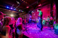 <p><h3>Volcanic Theatre Pub</h3></p> <p><b>70 SW Century Dr., Bend</b></p> <p>If you're looking for the most casual yet simultaneously the most edgy venue in Bend, then you've gotta check out the Volcanic. You get a good mix from a lot of alternative and up-and-coming acts, varying from rock, folk to reggae and more. Relax and find a spot on one of the couches or stand up and show off your sweet moves.</p>