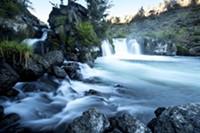 Steelhead Falls on the Deschutes River