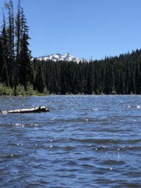 Upper Marilyn Lake.