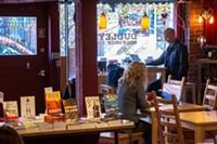 Dudley's Bookshop Cafe.