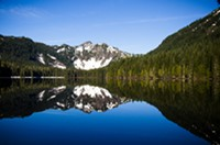 The Elk Lake trailhead will have a quota of 24 day-use permits under the Draft Decision announced today.