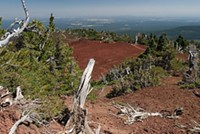 Black Crater would have a day-use permit quota of 24 permits under the plan announced today.